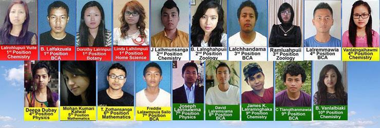 University Rank Holders 2015